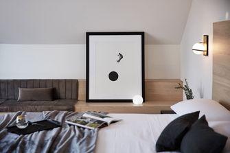 140平米田园风格卧室欣赏图