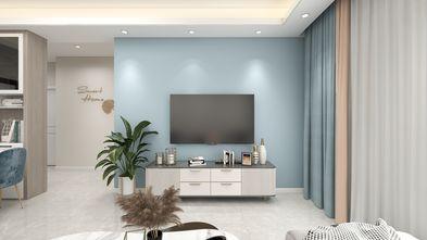 10-15万90平米三室两厅现代简约风格客厅设计图