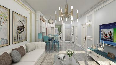 经济型70平米欧式风格客厅装修效果图