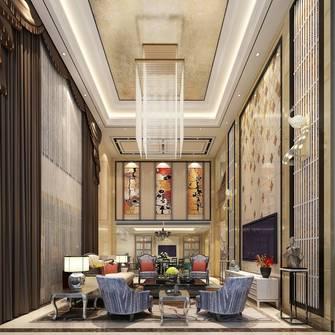 20万以上140平米别墅港式风格客厅设计图