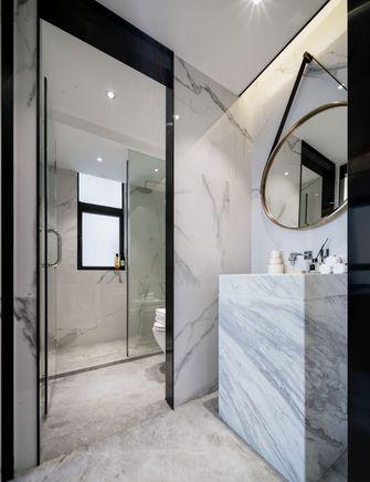 富裕型三室两厅现代简约风格卫生间效果图
