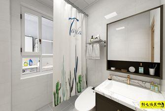 富裕型120平米三室两厅现代简约风格卫生间设计图