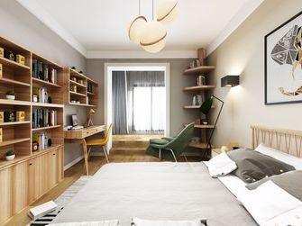3-5万40平米小户型日式风格卧室装修效果图