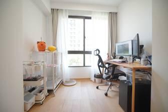 50平米公寓日式风格阳台图
