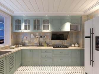 豪华型130平米三室一厅美式风格厨房装修案例