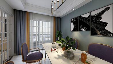 110平米三室两厅轻奢风格餐厅装修效果图