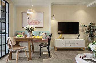 富裕型三室一厅北欧风格餐厅效果图