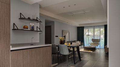 富裕型80平米三室一厅现代简约风格玄关装修案例
