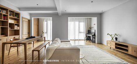 110平米四室两厅田园风格其他区域设计图