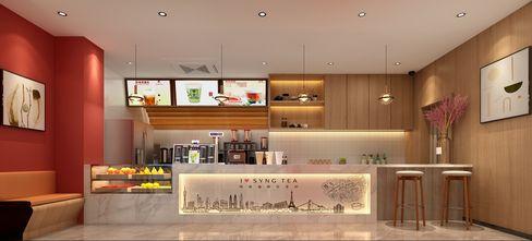 50平米小户型公装风格客厅装修案例