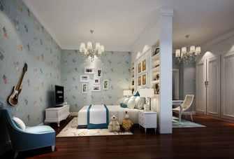豪华型140平米四欧式风格青少年房欣赏图
