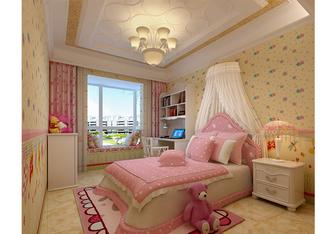 富裕型130平米欧式风格青少年房效果图