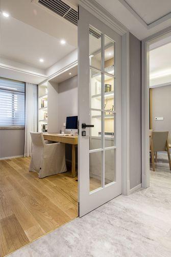 10-15万90平米三室一厅日式风格书房欣赏图