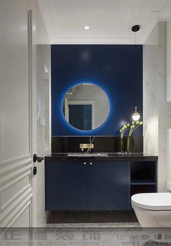 70平米三室两厅欧式风格卫生间欣赏图