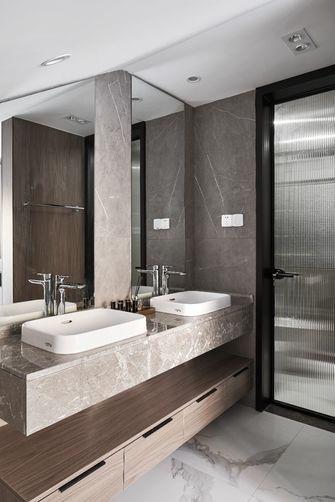 豪华型140平米复式英伦风格卫生间设计图