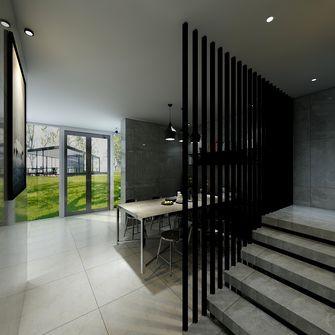 富裕型140平米三室两厅工业风风格餐厅装修图片大全