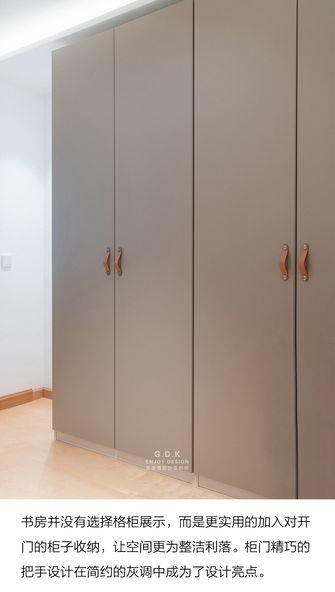 富裕型120平米日式风格书房装修图片大全