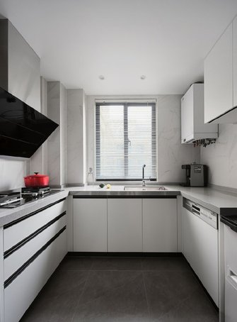 90平米三现代简约风格厨房图