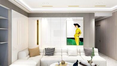 30平米超小户型轻奢风格客厅装修图片大全