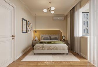 经济型60平米一室一厅混搭风格卧室图