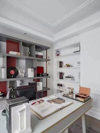 140平米三室两厅美式风格书房装修图片大全