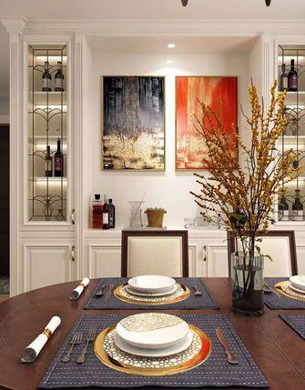 15-20万130平米三室两厅美式风格餐厅设计图