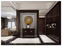 富裕型140平米四室两厅中式风格走廊欣赏图