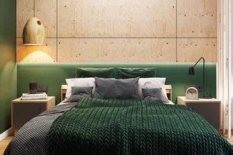 30平米小户型北欧风格卧室图