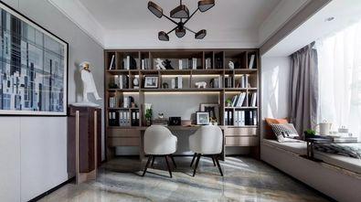 110平米三现代简约风格书房设计图