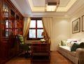 豪华型140平米四室两厅欧式风格书房装修效果图