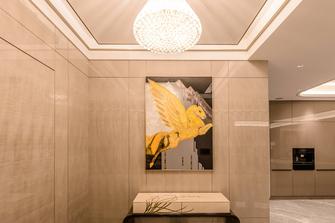 140平米四室三厅轻奢风格玄关图片