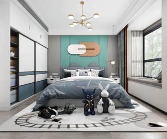 豪华型140平米三室三厅轻奢风格卧室设计图