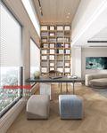 豪华型140平米别墅法式风格书房装修效果图