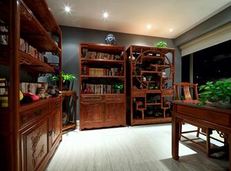 20万以上120平米欧式风格书房图片