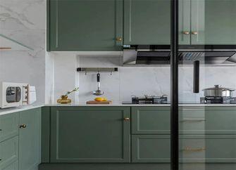 豪华型130平米三室一厅混搭风格厨房图片