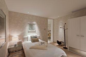 富裕型100平米三室两厅现代简约风格卧室图片