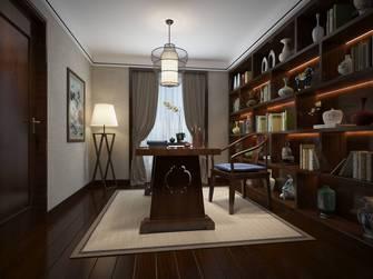 豪华型140平米别墅新古典风格书房装修效果图