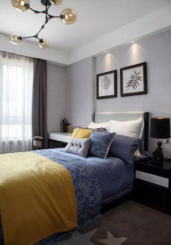 富裕型110平米三室两厅中式风格青少年房装修案例