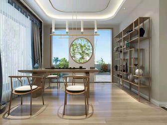 140平米三室一厅中式风格书房装修案例