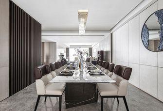 豪华型140平米四室四厅轻奢风格餐厅欣赏图