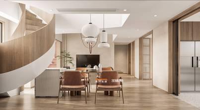 140平米复式混搭风格餐厅设计图
