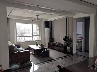 3-5万80平米现代简约风格客厅设计图