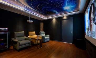 120平米复式中式风格影音室效果图