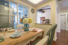 80平米田园风格厨房图片