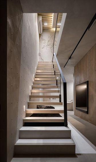 20万以上140平米复式现代简约风格楼梯间装修效果图
