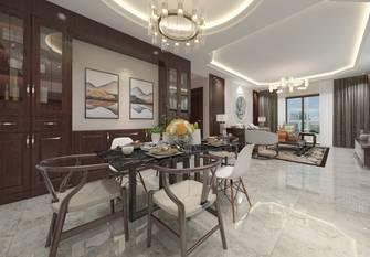 豪华型140平米三室四厅中式风格餐厅欣赏图