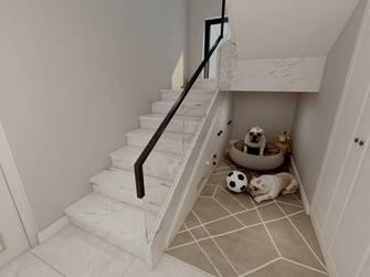 140平米三轻奢风格楼梯间设计图