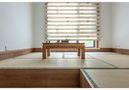 130平米三室两厅日式风格书房装修效果图