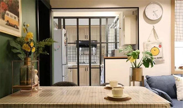 富裕型60平米混搭风格餐厅设计图