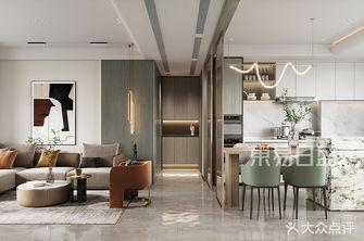 120平米三室两厅轻奢风格走廊装修效果图